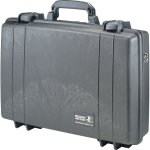 Pelican Products Watertight Dustproof Computer Case w/o Foam  Black