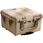 Pelican Products 1640 Cube Case-TAN 23.70 x 24.00 x 13.90