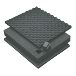 Pelican Products 4-Piece Replacement Foam Set for 1650 Case