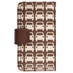 Orla Kiely Rotating Folio Case for Apple iPhone 4/4S, iPhone 3G/3GS (Car Park)