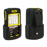 OtterBox Defender Case for Blackberry Curve (Yellow/Black) - 1935-05.5