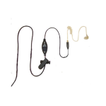 McKay Radio Accessories Earpiece 1 Wire for Motorola