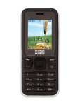 PCD 2030 Dual Band Cell Phone - Black