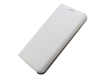 Samsung S6 Edge Wallet Flip Cover - White Pearl
