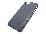 APH11237 - Adopted - Leather Wrap Case For Apple Iphone 5 And 5s - Pewter/gunmetal