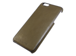 APH13147 - Adopted - Saddle Leather Wrap Case For Apple Iphone 6 Plus - Saddle Olive/gunmet