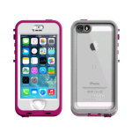 LifeProof Nuud Waterproof Case for Apple iPhone 5/5s/SE - Blaze Pink/Clear