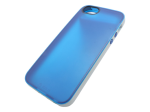F8W138TTC08 - Belkin Grip Candy Sheer iPhone 5-Compatible Case - Blue/white