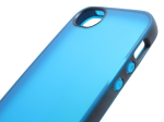 F8W138ttC05 - Belkin Grip Candy Sheer Case For iPhone 5 - Teal/silver