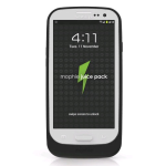 Mophie JuicePack Battery Case for Samsung Galxy S3 (Black) - 2200JPGALAXYSIII