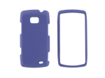 Evercell Rubberized Snap-On Case for LG Axis - Purple