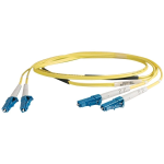 Cables Unlimited Inc. 3m LC-LC UPC SM  Duplex  Riser Rated  Jumper