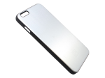 Platinum - Brushed Metal Case for iPhone 6 Plus - Silver