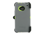 OtterBox Defender Case for HTC One / M7 - PUNK (Green/Grey)