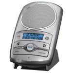 General Electric DECT 6.0 2-Way Wireless Speakerphone Intercom Accessory (Silver)