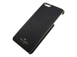 Wrap Case for iPhone 6 Plus Black/Gold Trimming