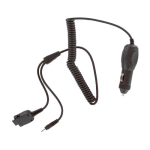 Audiovox Car Charger & Bluetooth Headset Adapter Cable for Audiovox PPC-6600 (Black) - 3002C-Y