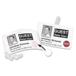 Dymo LabelWriter Self-Adhesive Name Badge Label w/12Hr Time Expiring Labels w/ Red Stop Sign, 2-1/4