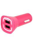 Verizon Lens 4.8A Vehicle Charger - Pink