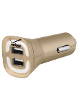 Verizon Lens 4.8A Vehicle Charger - Gold
