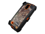 Defender Series Case for Samsung Galaxy S4 Camoflage/Orange