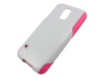Commuter Series Case for Samsung Galaxy S5 White/Pink