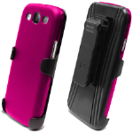 Beyond 3-In-1 Shield and Holster Set for Samsung Galaxy S III - Pink