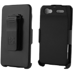 Beyond 3-In-1 Shield and Holster Set for Motorola XT881 Electrify 2 - Black