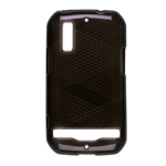 Sprint Dura-Gel Case for Motorola MB855  (Black)