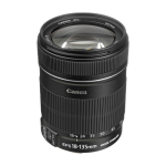 Canon EF-S 18-135mm f/3.5-5.6 IS Zoom Lens
