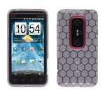 Dura-Gel Case for HTC EVO 3D (Honeycomb Clear)