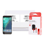 Google Pixel Power & Screen Protector Bundle - 48 Verizon USB-C Wall Chargers & Tempered Glass Screen Protectors