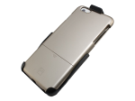 Platinum Holster Case with Kickstand for IPhone 6 Plus Gold