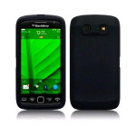 Sprint Silicone Case for BlackBerry 9850/9570 (Black)
