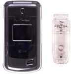Wireless Solutions Snap On Case for LG VX5500 - Clear