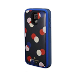 Backup Battery Case for Samsung Galaxy S5 Navy White/Pink/Red/Blue Polka Dots