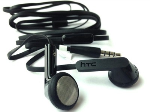 HTC RC E195 Flat Cable Stereo Headset - 3.5mm Universal Headset