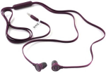 OEM HTC 3.5mm Tangle Free Earbud Headphones RC E190 (Purple)