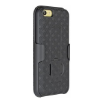 Verizon Shell Case Holster Combo for Apple iPhone 5C (Black)