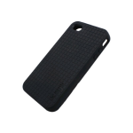Speck High Contrast and Lightweight PixelSkin HD Black for iPhone 4