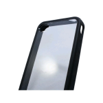 Skinit 2in1 Cover Clear/Black for iPhone 4/4S