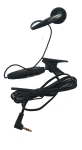 Wireless Solutions - Universal Handsfree Earbud Headset for 2.5mm phones - Black