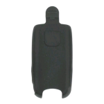Wireless Solutions Swivel Belt Clip Holster for Sony Ericsson Z520 - Black