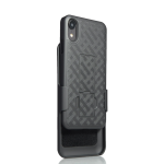 Verizon Shell Holster Combo Case for Apple iPhone XR (Black)