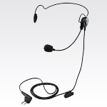 OEM Motorola 53815 Lightweight Headset with Boom Microphone - Black