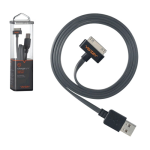 Ventev Charge & Sync Cable for Apple iPhone 4/4s, iPad 1/2 30-Pin (Gray)