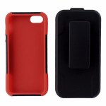 Ventev Fusionpro Holster Case Combo for iPhone 5/5s/SE - Black/Red