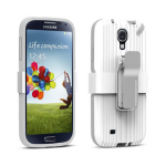 PureGear Utalitarian Smartphone Support System with Metallic Clip for Samsung Galaxy S4 (White)