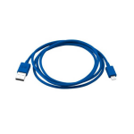 PureGear Charge-Sync Cord and Lighting Devices 48 Inches for Apple iPhone 5 / 5S (Blue)
