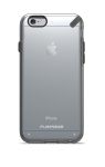 PureGear Slim Shell Case for iPhone 6s/6 - Clear/Black